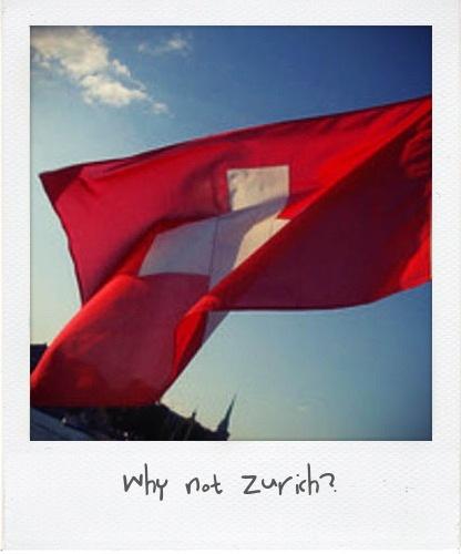 Bandiera Svizzera Polaroid