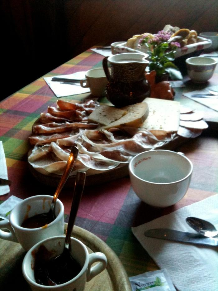 colazione malga