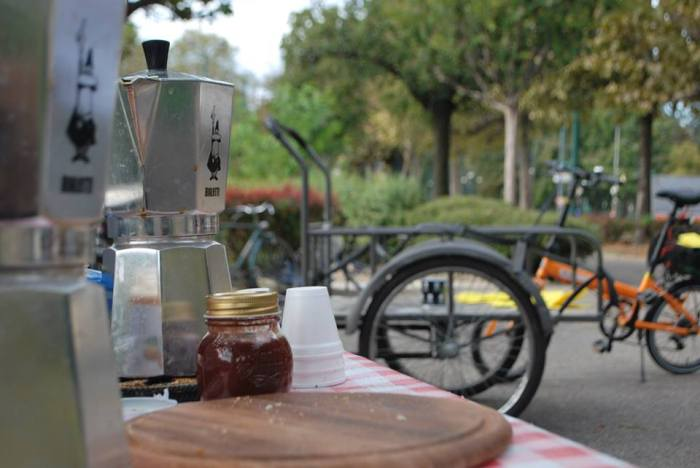 Bike Breakfast Bialetti