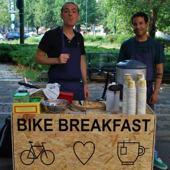 Bike Breakfast Damiano Niccolò