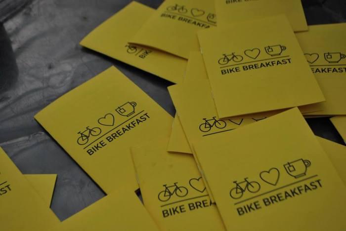 Bike Breakfast volantini