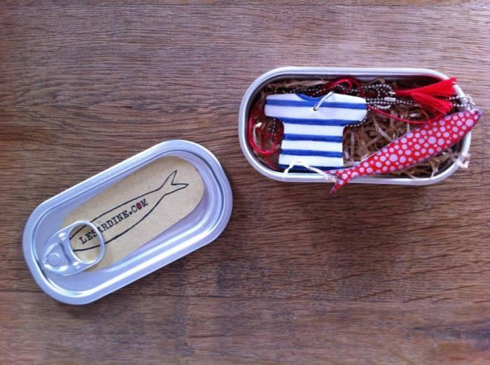 Collana in scatola Sardine