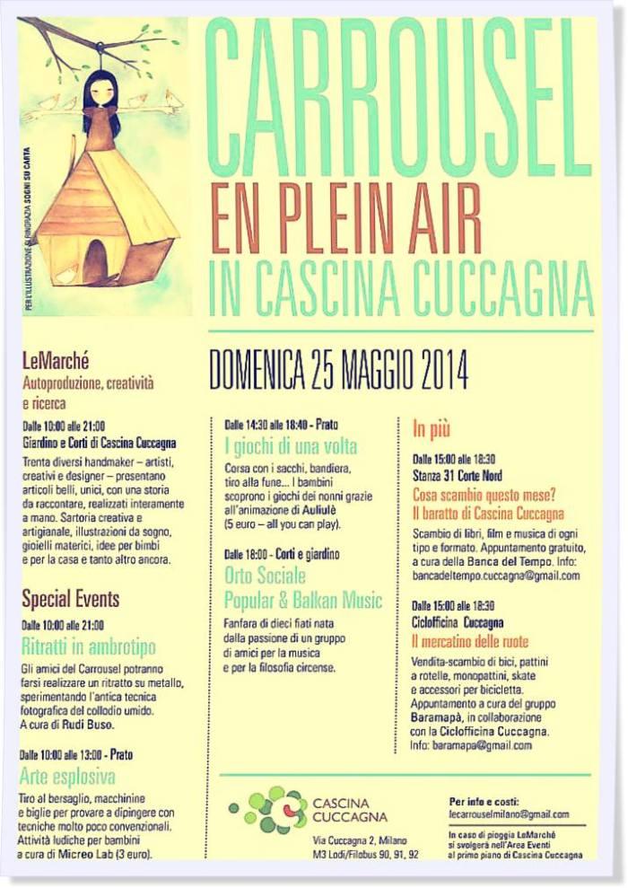 Locandina Carrousel 25 maggio